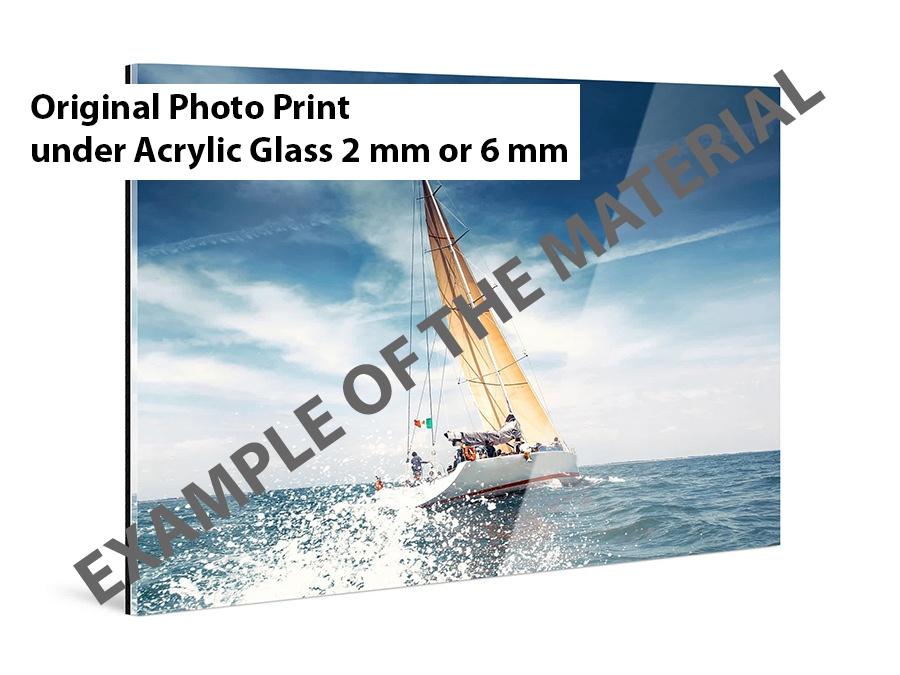 Wall Print Example of material Original Photo Print Acryl Glass 2 mm or 6 mm. Siehu Photography wall prints. Wall Art by Siebe Hubers.